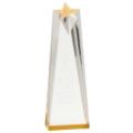 Gold Sculpted Star Acrylic
